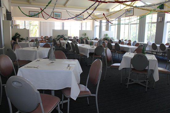 Brunswick Heads Bowls the dining area